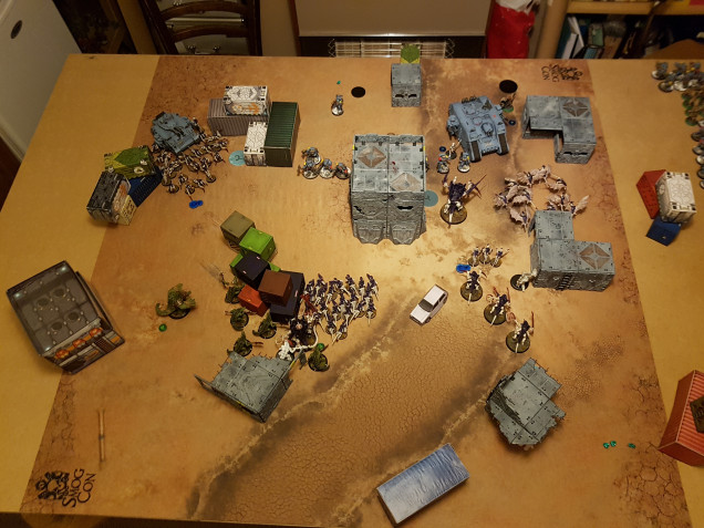 Round 2 End of Tyranids Activations
