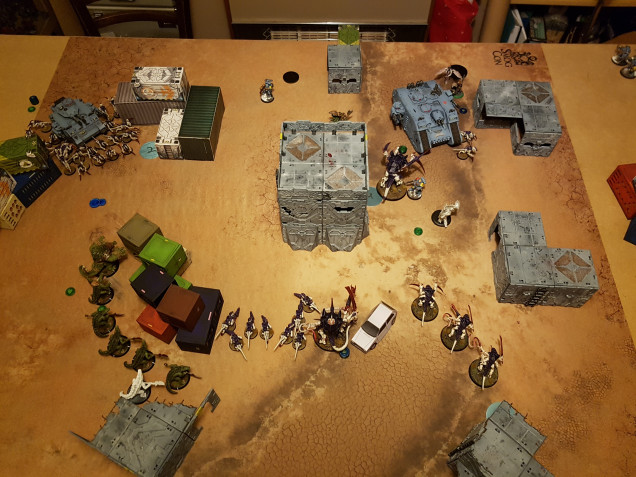 Round 3 after Tyranids Activation