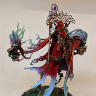 Lady Olynder finished for Easter Tournament