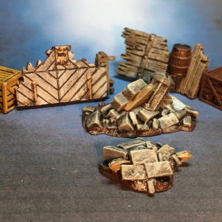 Forging Ahead Plus Some Scatter Terrain