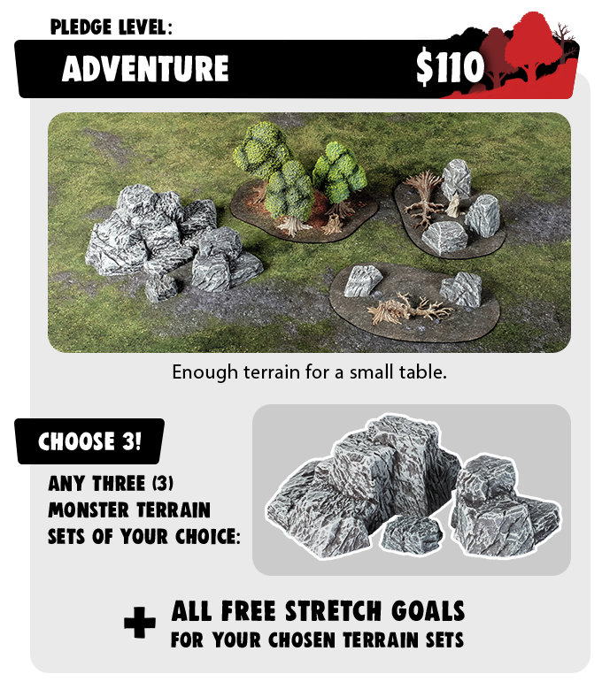 Adventure Pledge - Monster Terrain