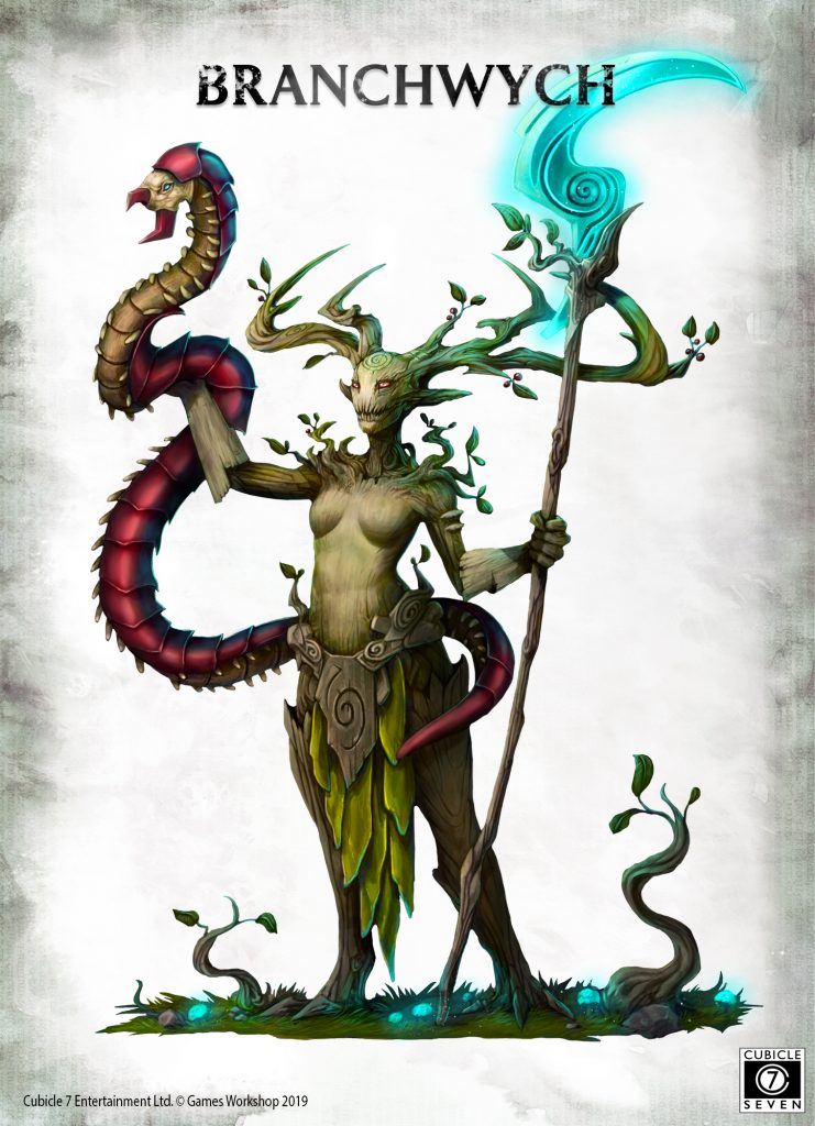 Age Of Sigmar RPG Branchwych - Cubicle 7
