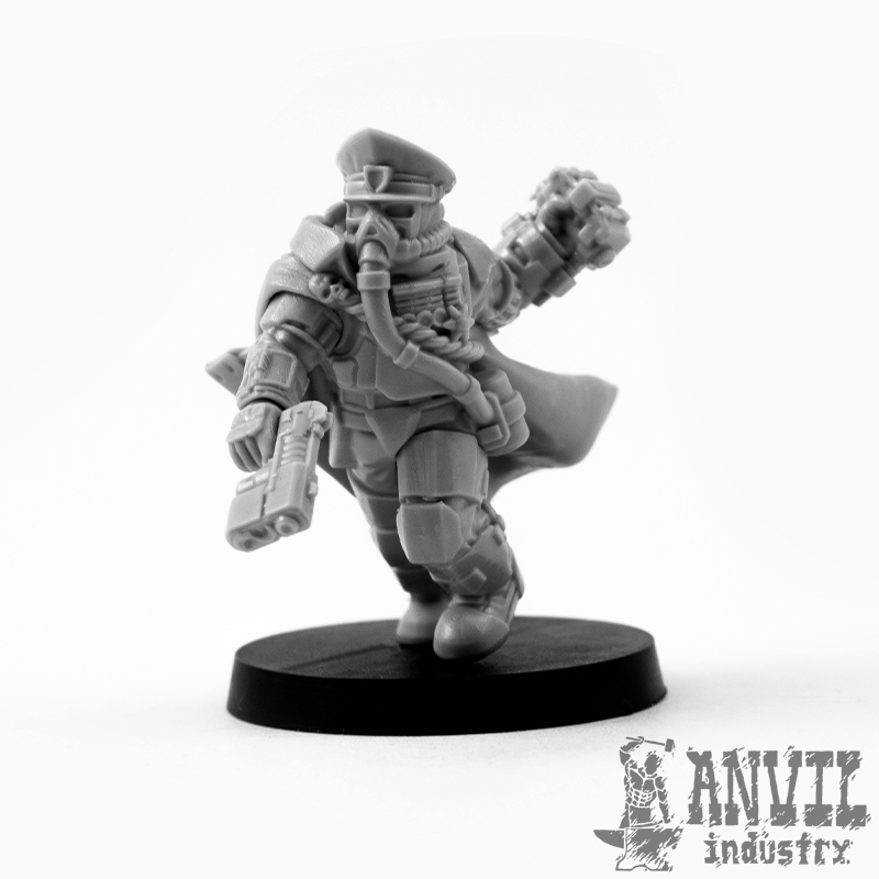 Armoured Commissar - Anvil Industry