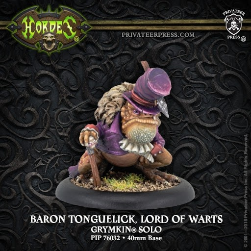 Baron Tonguelick Lord Of Warts - Privateer Press