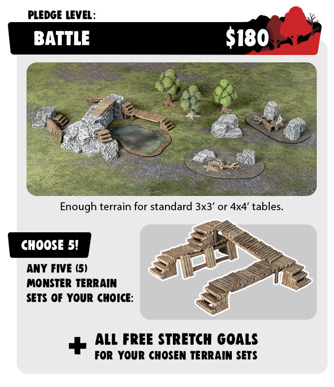 Battle Pledge - Monster Terrain