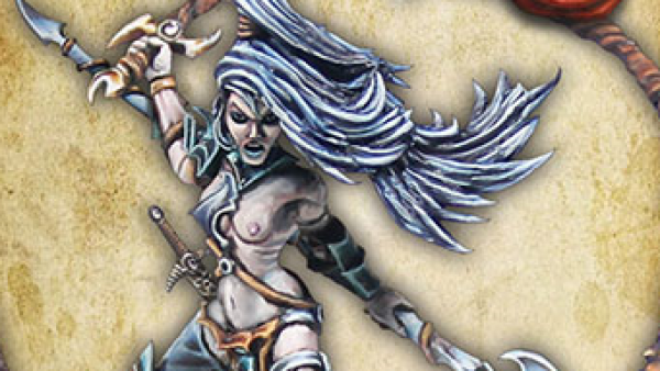 A Dark Elf Beastmaster Cracks Her Whip At Avatars of War