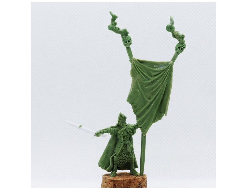 Black Hearted Banner Bearer - Unreleased Miniatures