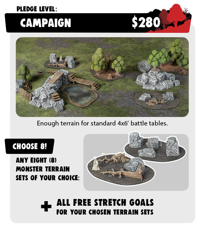 Campaign Pledge - Monster Terrain