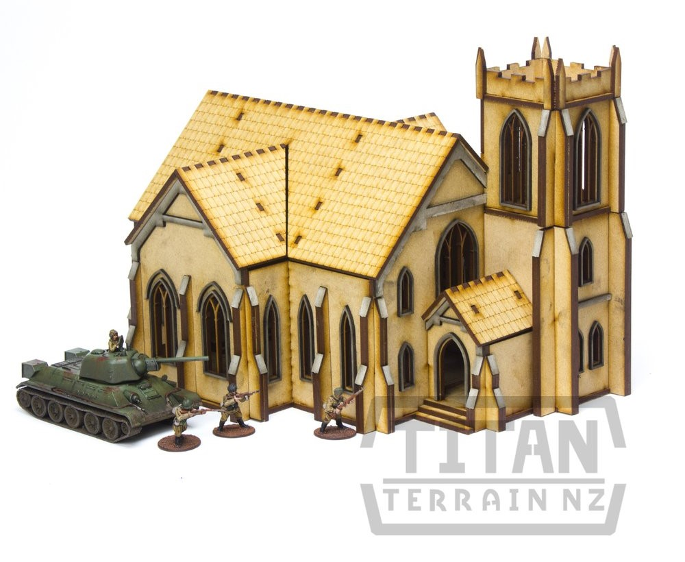 Church #1 - Titan Terrain NZ