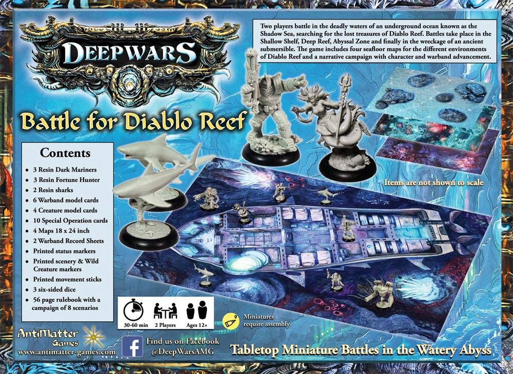 DeepWars Starter Set #2 - AntiMatter Games
