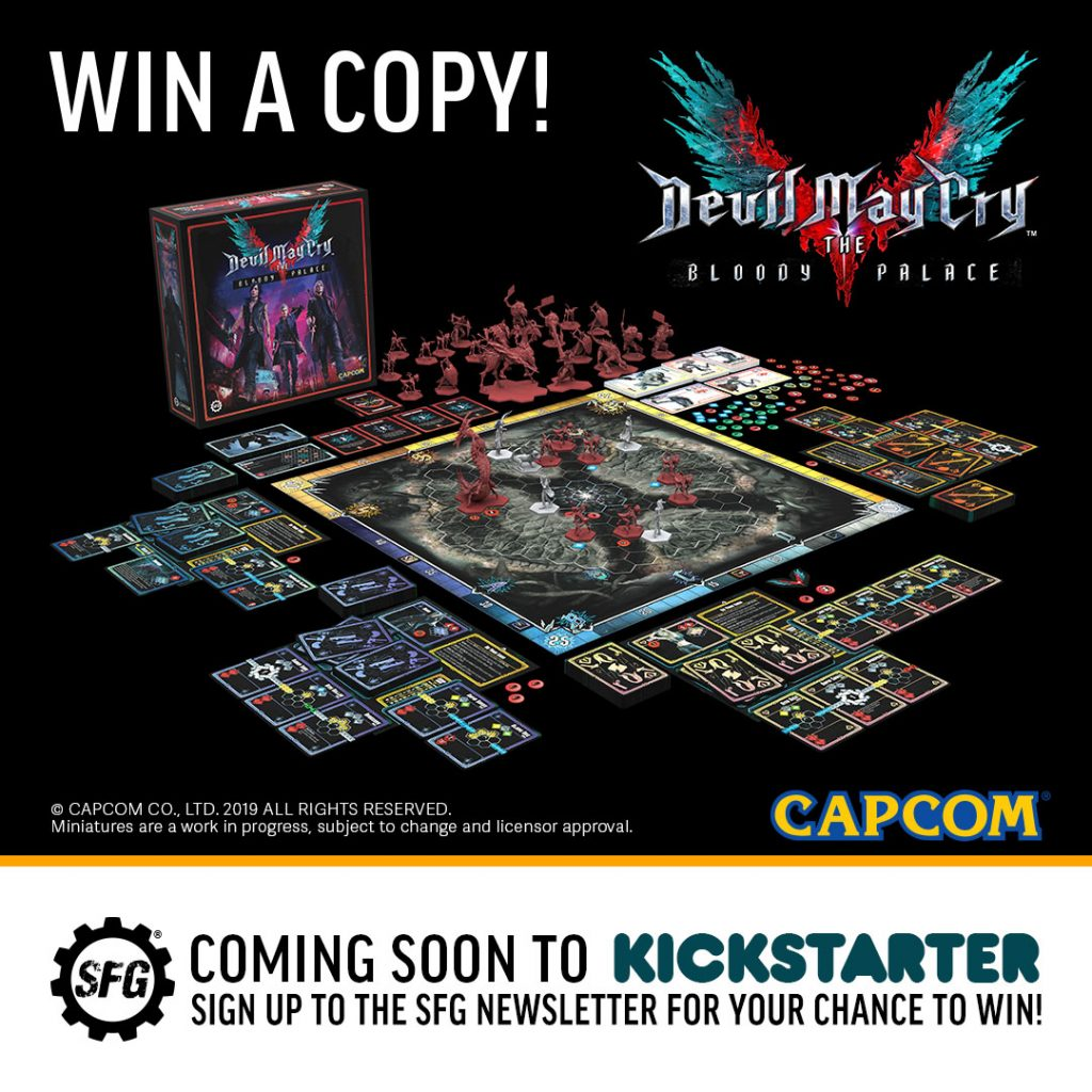 Devil May Cry The Bloody Palace - Steamforged Games