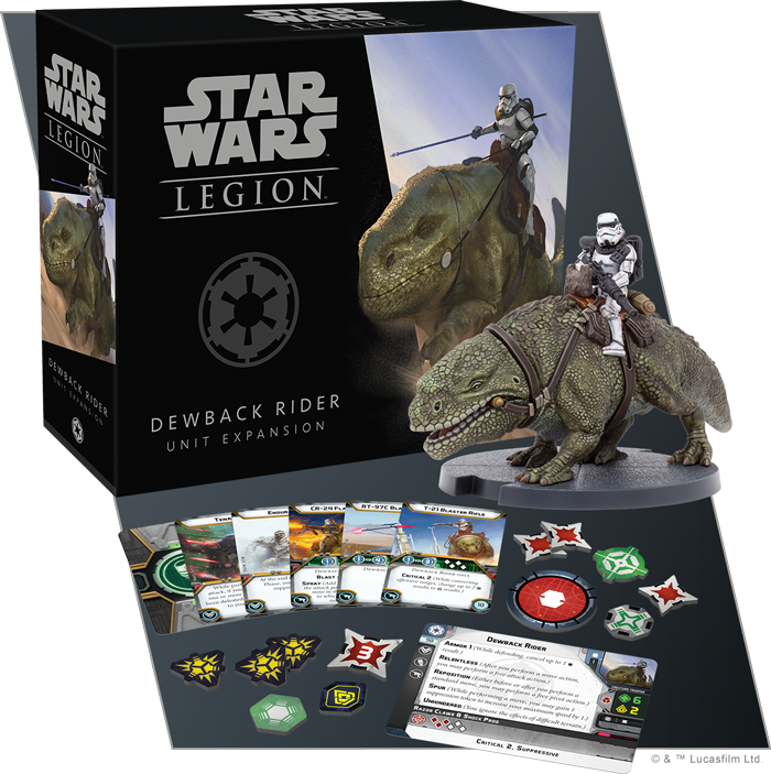 Dewback Rider - Fantasy Flight Games
