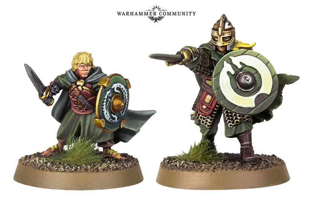 Eowyn & Pippin Unmounted - Games Workshop