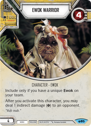 Ewok Warrior - FFG