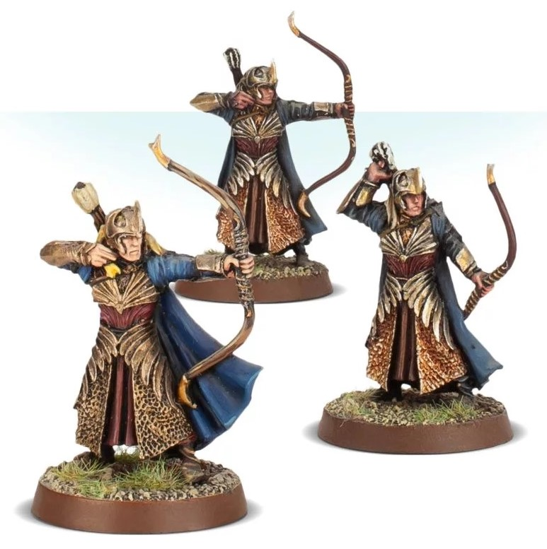 Galadhrim Warriors With Bows - Games Workshop