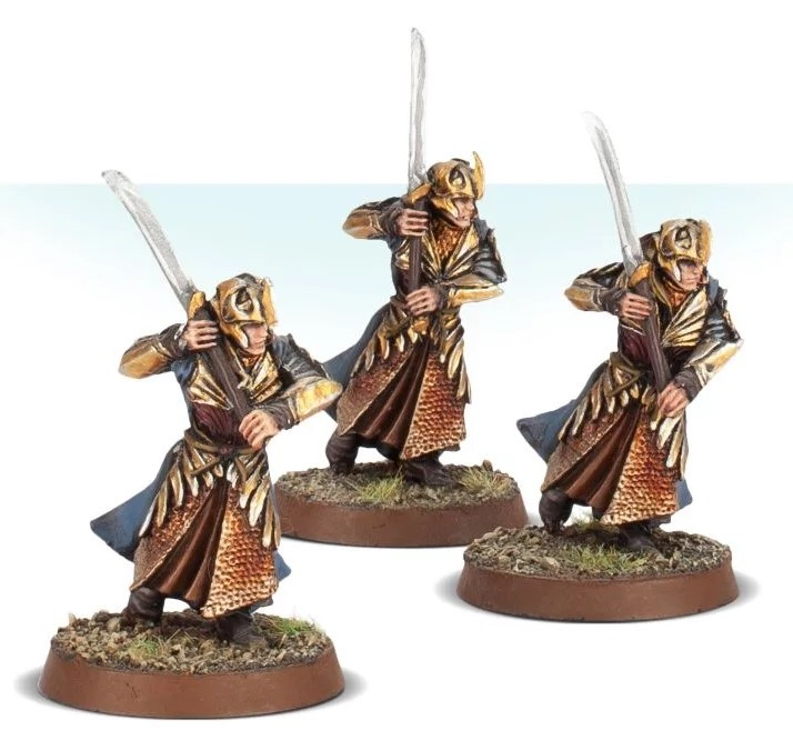 Galadhrim Warriors With Swords - Games Workshop