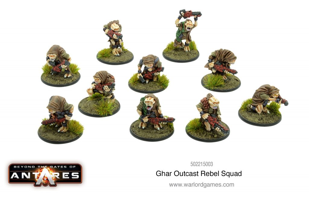 Ghar Outcast Rebel Squad - Warlord Games