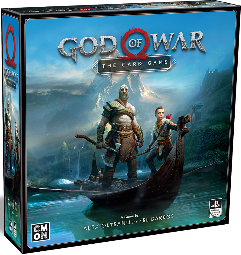 God Of War The Card Game - CMON