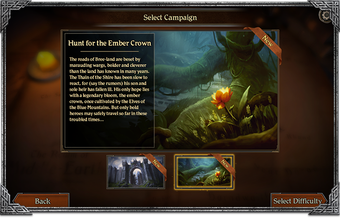 Hunt For The Ember Crown Adventure #1 - LotR Journeys In Middle-earth