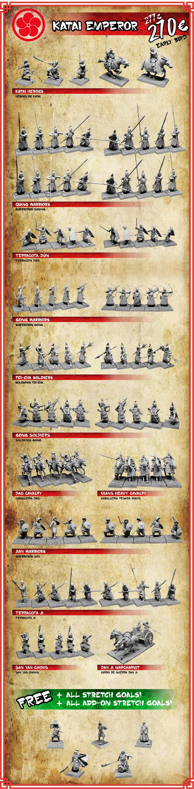 Katai Empire Pledge - Zenit Miniatures