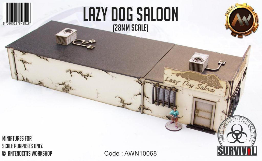 Lazy Dog Saloon #1 - Antenocitis Workshop
