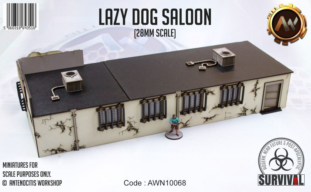 Lazy Dog Saloon #2 - Antenocitis Workshop