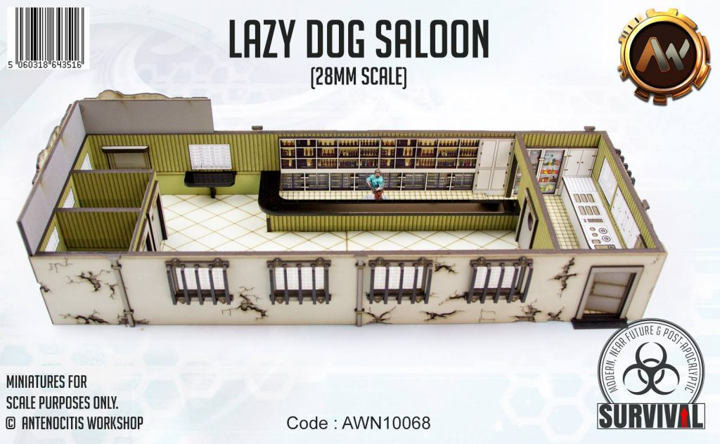 Lazy Dog Saloon #3 - Antenocitis Workshop