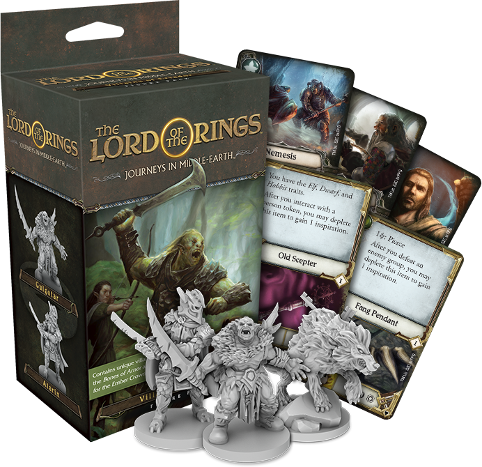LotR Journeys In Middle-earth Villains Pack - FFG