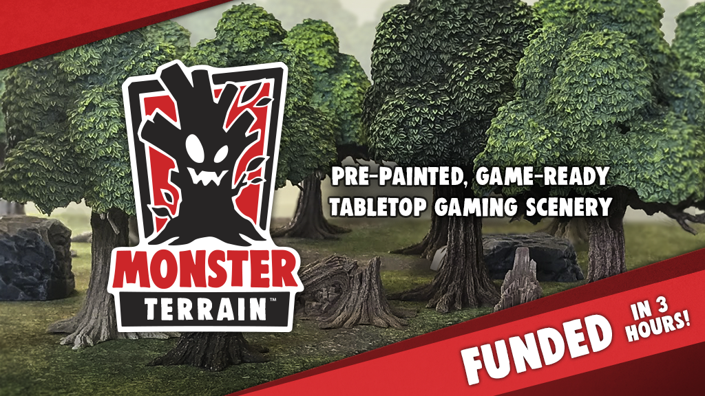 Monster Terrain Kickstarter