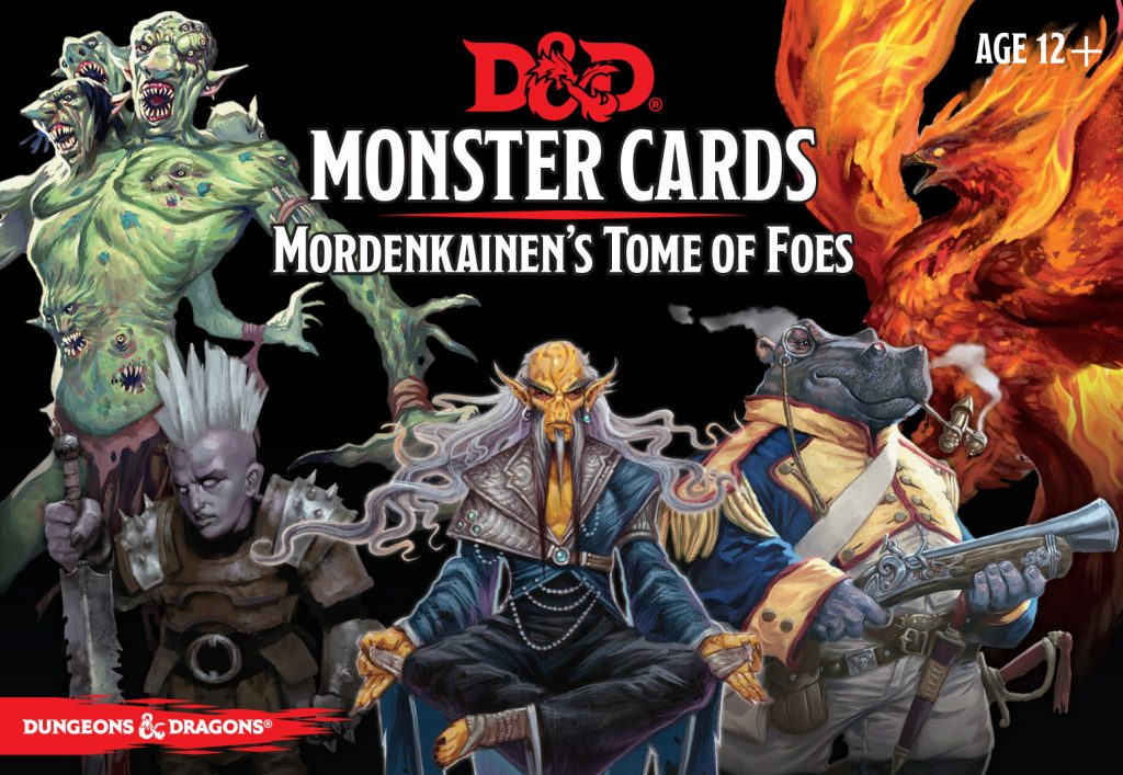 Mordenkainen's Tome Of Foes Card Set - Gale Force Nine