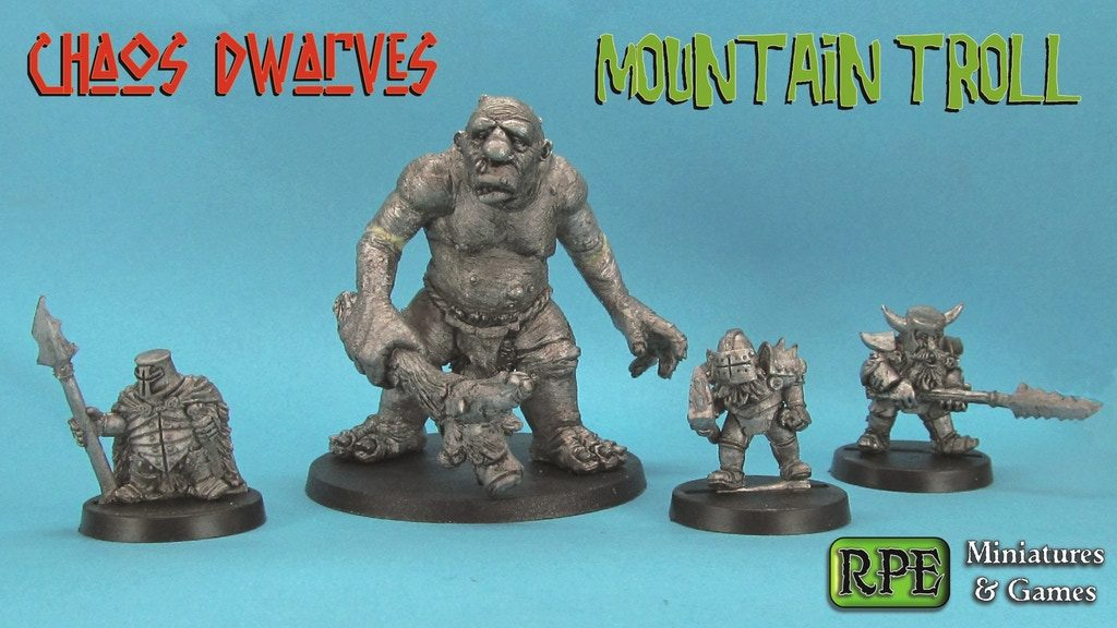 Mountain Troll - Ral Partha Europe