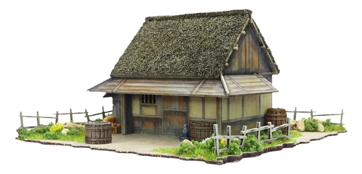 Mountain Village Farmhouse - Sarissa Precision