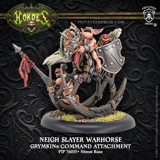 Neigh Slayer Warhorse - Privateer Press