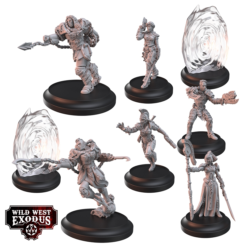 Portal Vanguard Posse - Wild West Exodus