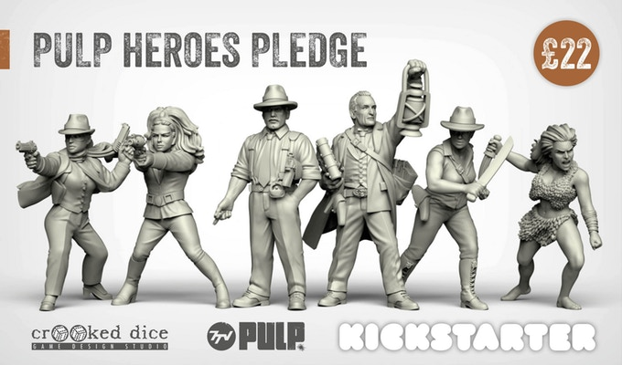 Pulp Heroes - Crooked Dice