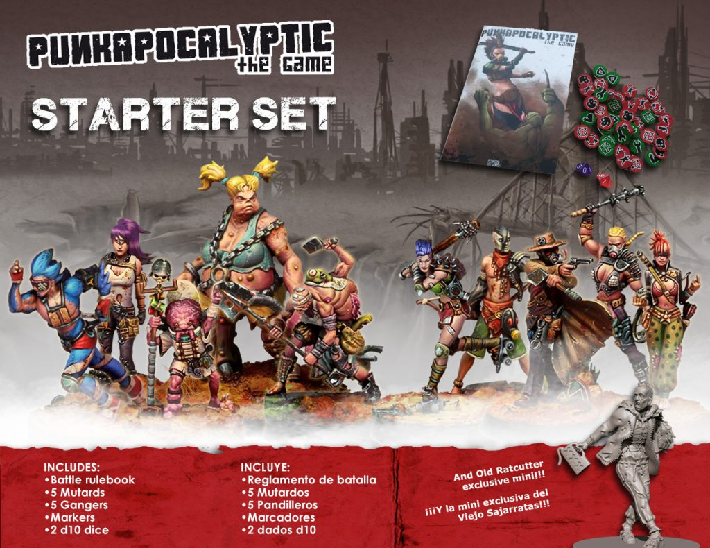 Punkapocalyptic Starter Set - Bad Roll Games