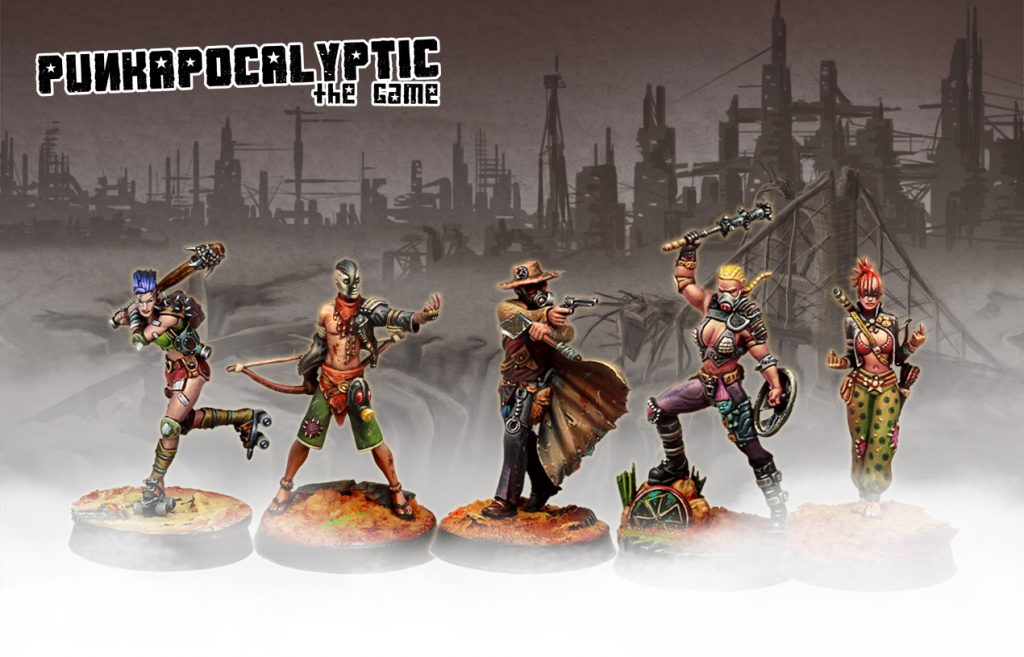 Punkapocalyptic Starter Set Warband #1 - Bad Roll Games