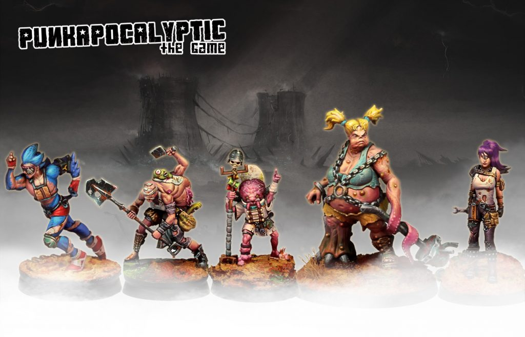 Punkapocalyptic Starter Set Warband #2 - Bad Roll Games