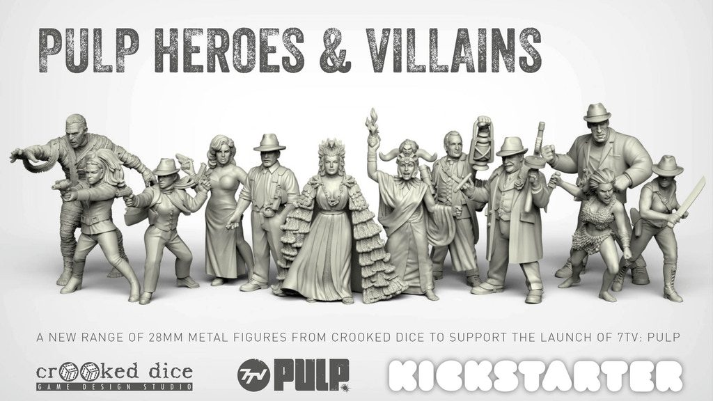 Pulp Heroes & Villains - Crooked Dice