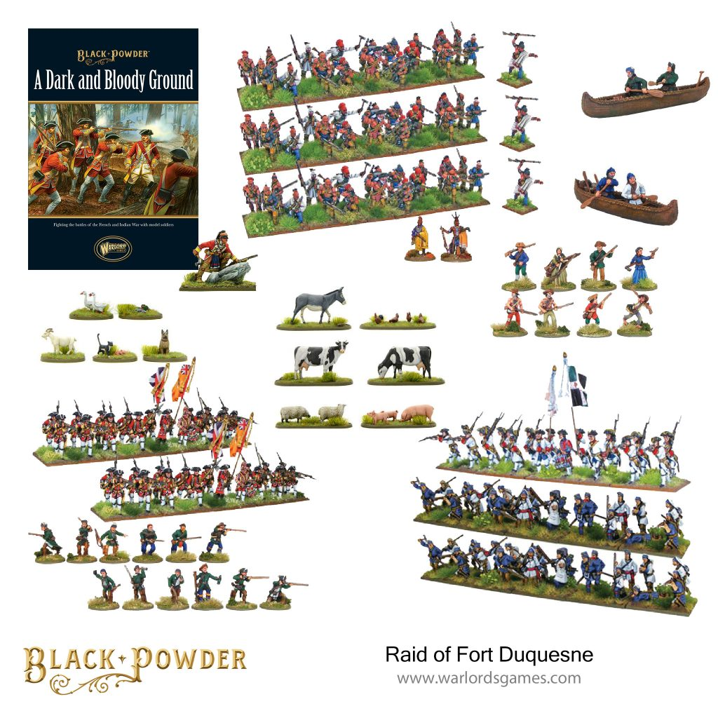 Raid Of Fort Duquesne - Warlord Games