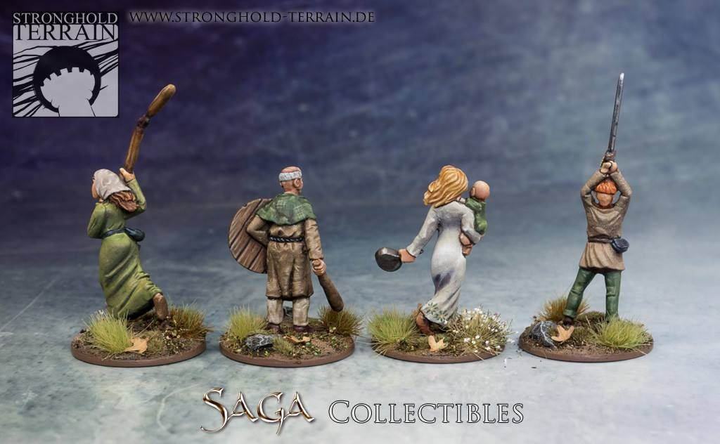 SAGA Civilians #2 - Stronghold Terrain