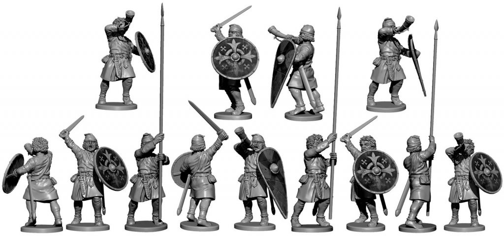 Saxon Command (Alt) - Victrix
