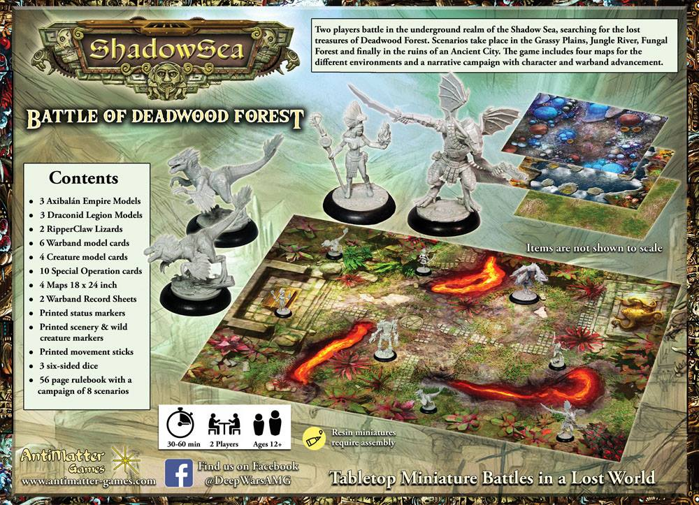 ShadowSea Starter Set #2 - AntiMatter Games
