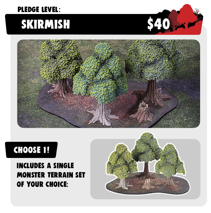 Skirmish Pledge - Monster Terrain