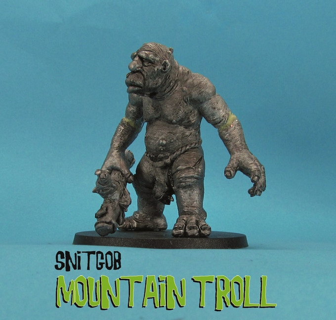 Snitgob Mountain Troll - Ral Partha Europe