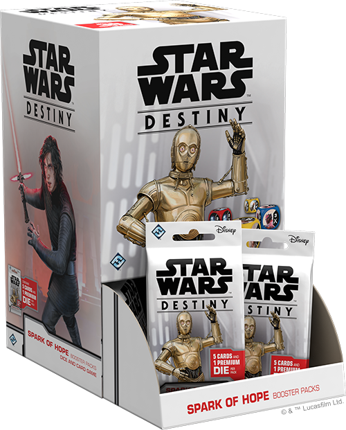 Star Wars Destiny Spark Of Hope - FFG