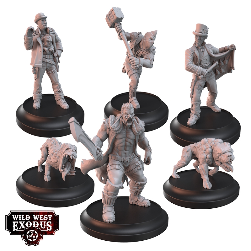 Tainted Biology Posse - Wild West Exodus
