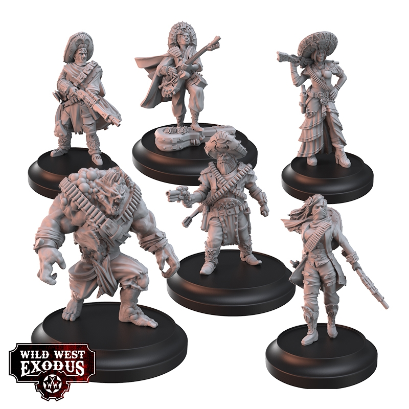 The Blood Espionosas Posse - Wild West Exodus
