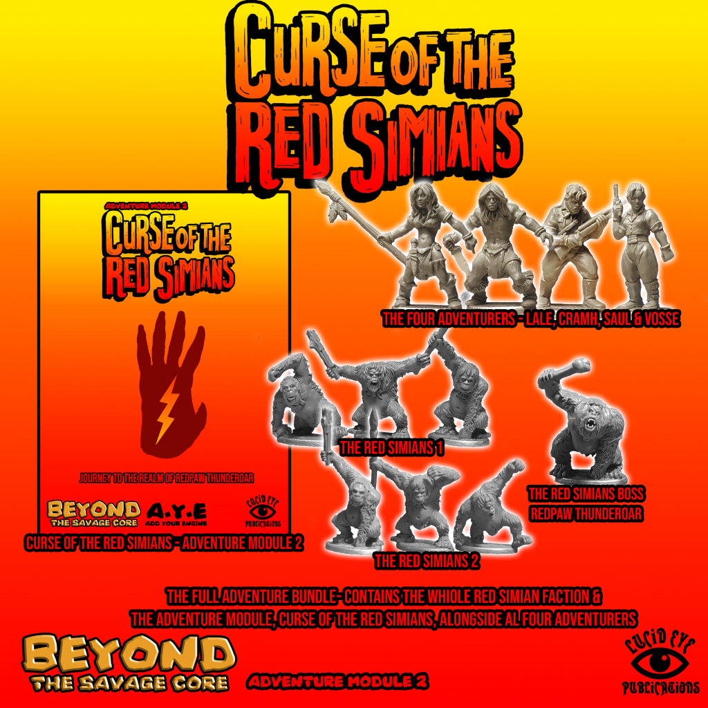 The Curse of The Red Simians Full Adventure Bundle - Lucid Eye