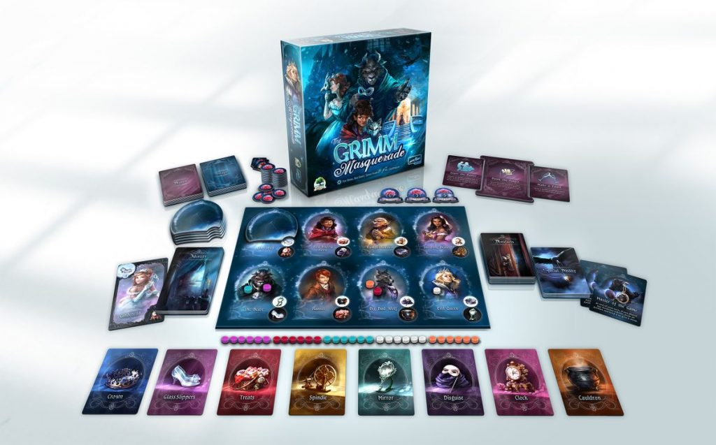 The Grimm Masquerade Contents - Druid City Games